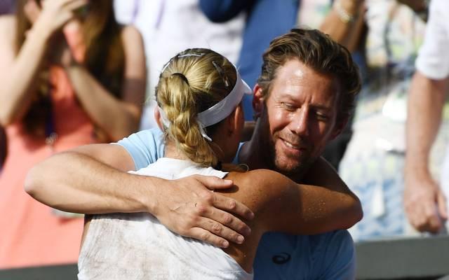 Angelique Kerber gewann in diesem Jahr Wimbledon. Trainiert wurde sie von Wim Fissette