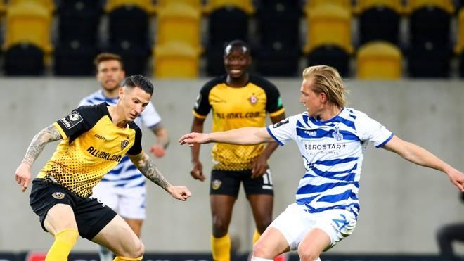 Dynamo Dresden schlägt den MSV Duisburg mit 1:0