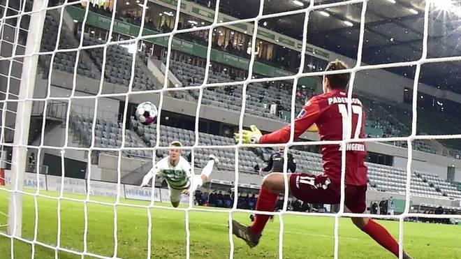 Sebastian Ernst erzielte sein sechstes Saisontor für Fürth