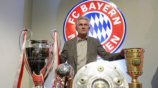 Jupp Heynckes gewann mit dem FC Bayern 2013 das Triple