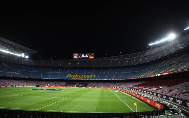 Auch in Barcelona werden die Stadien bei internationalen Spielen leer bleiben