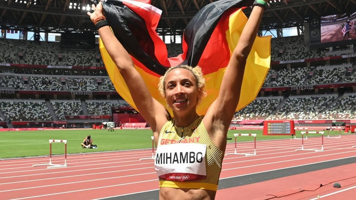 Malaika Mihambo holt in Tokio die Goldmedaille
