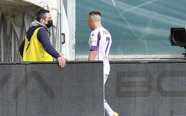 Der Vertrag von Franck Ribéry beim AC Florenz läuft im Sommer 2021 aus