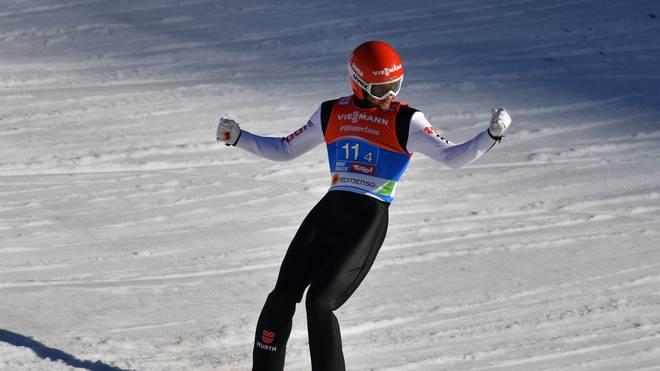 Markus Eisenbichler gewann bei der Skisprung-WM nach Gold im Einzel auch den Teamwettbewerb