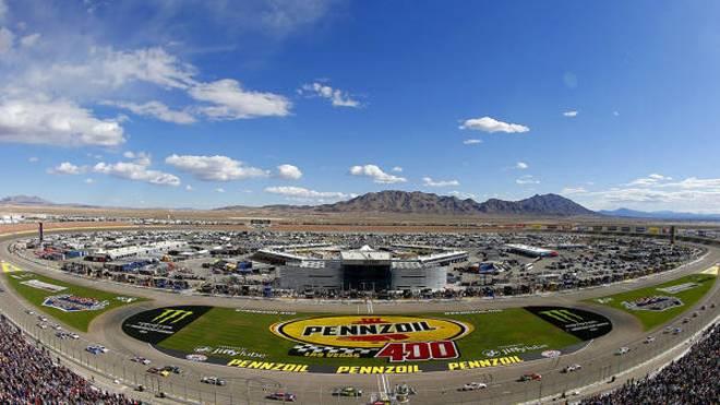 Der Las Vegas Motor Speedway ist eine von drei neuen Playoff-Strecken 2018