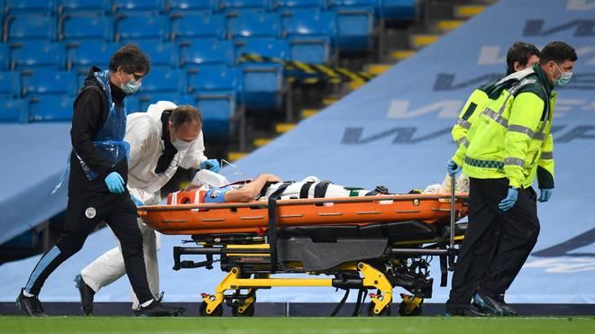 Eric Garcia musste sofort ins Krankenhaus gebracht werden. Mittlerweile geht es ihm wieder besser