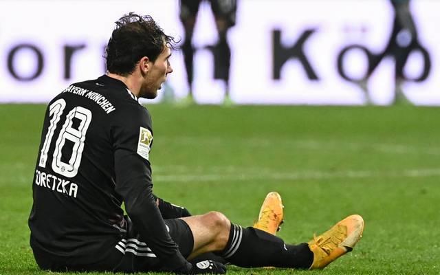 Bayerns Leon Goretzka musste in Berlin angeschlagen ausgewechselt werden