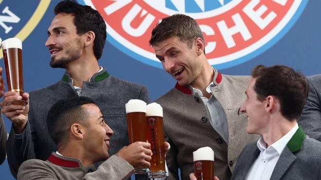 Zu Zeiten des Oktoberfestes spielen die Bayern traditionell stark