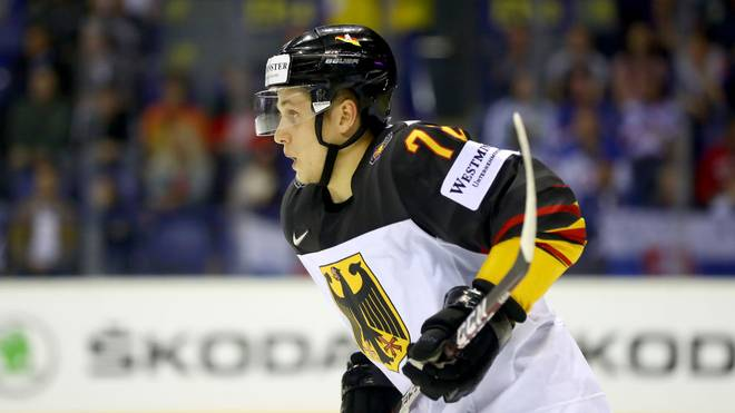 Dominik Kahun gewann mit der Deutschen Nationalmannschaft 2018 Silber bei den Olympischen Winterspielen