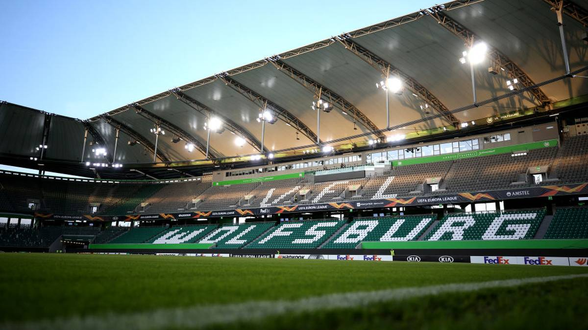 WOLFSBURG, GERMANY - SEPTEMBER 19: General view inside the stadium prior to the UEFA Europa League group I match between VfL Wolfsburg and FC Oleksandriya at Volkswagen Arena on September 19, 2019 in Wolfsburg, Germany. (Photo by Maja Hitij/Bongarts/Getty Images )