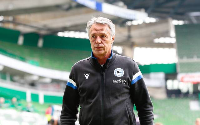 Uwe Neuhaus ist Trainer von Arminia Bielefeld