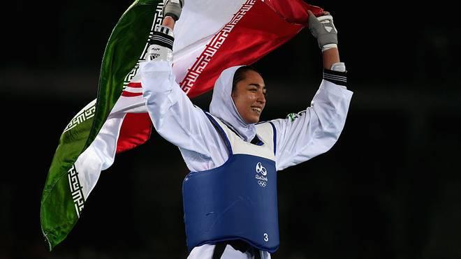 Kimia Alisadeh ist eine der bekanntesten Sportlerinnen des Irans