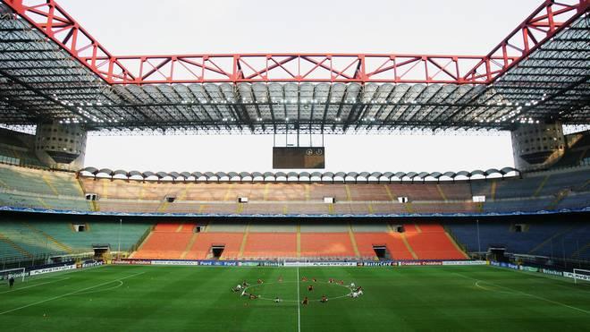 Das Guiseppe-Meazza-Stadion in Mailand steht zum Verkauf
