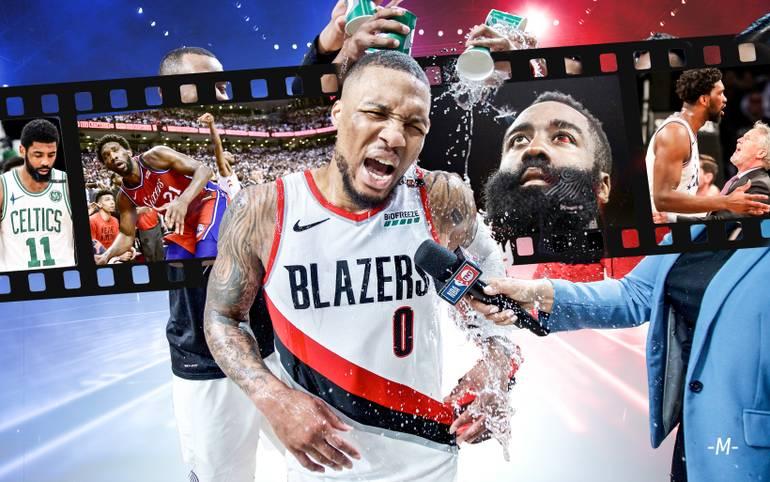 Die vier Teams, die in den Conference Finals um den Einzug in die NBA Finals kämpfen, stehen fest. Bevor es damit losgeht, wirft SPORT1 einen Blick zurück auf die ersten beiden NBA-Playoffrunden, die bereits einige Aufreger, Überraschungen, Top-Leistungen, aber auch Enttäuschungen lieferten