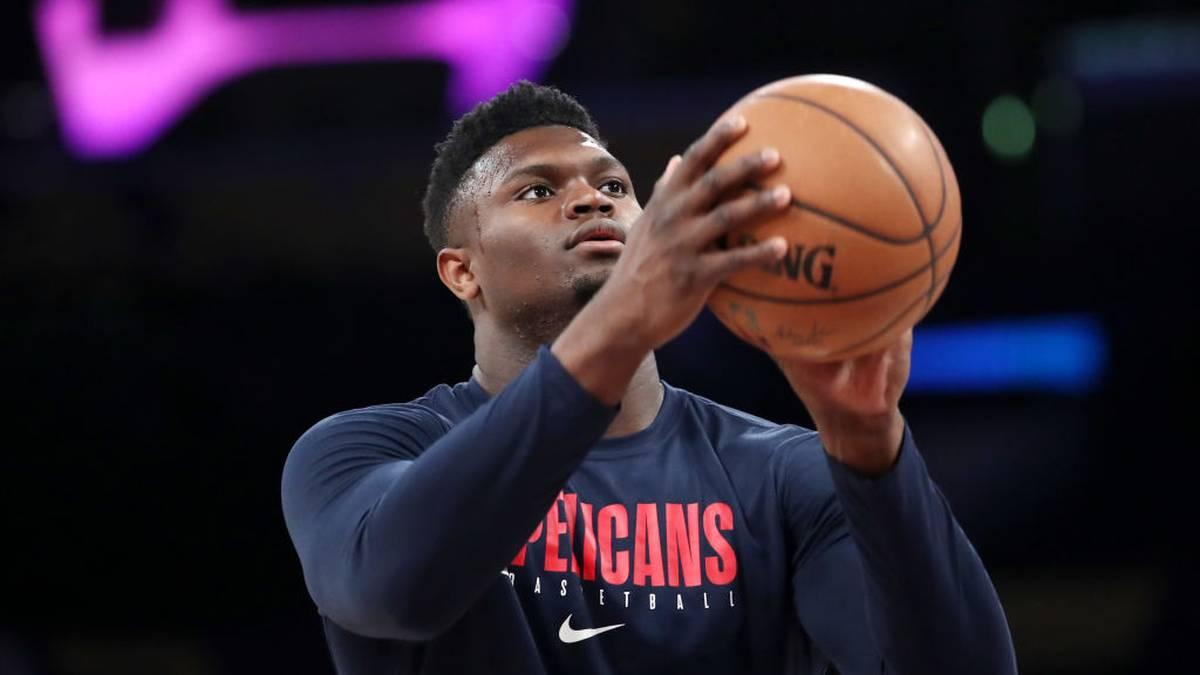 Zion Williamson kehrt in die NBA-Balse zu den New Orleans Pelicans zurück