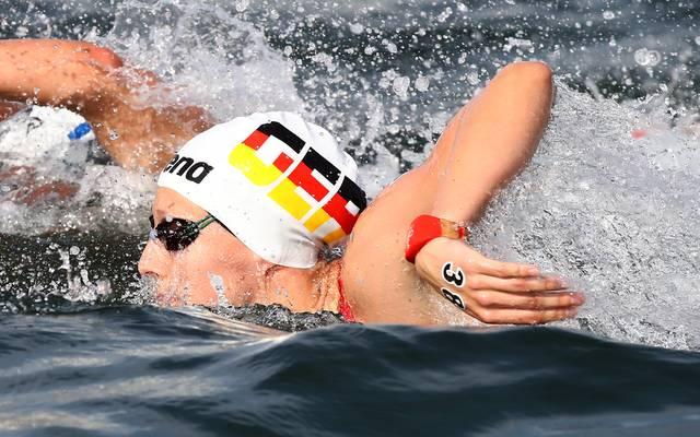 Schwimm-WM: Leonie Beck holt Bronze im Freiwasser über 5 Kilometer