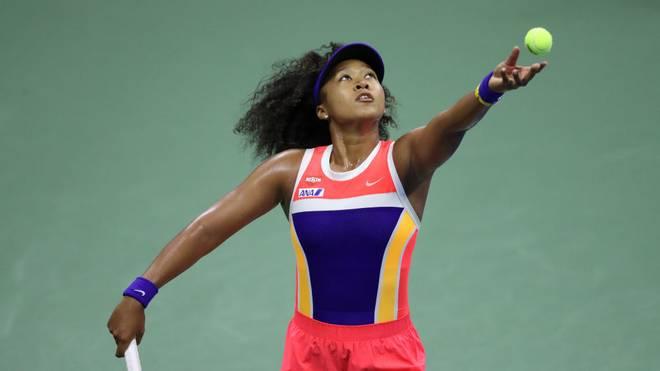 Naomi Osaka steht bei den US Open im Viertelfinale