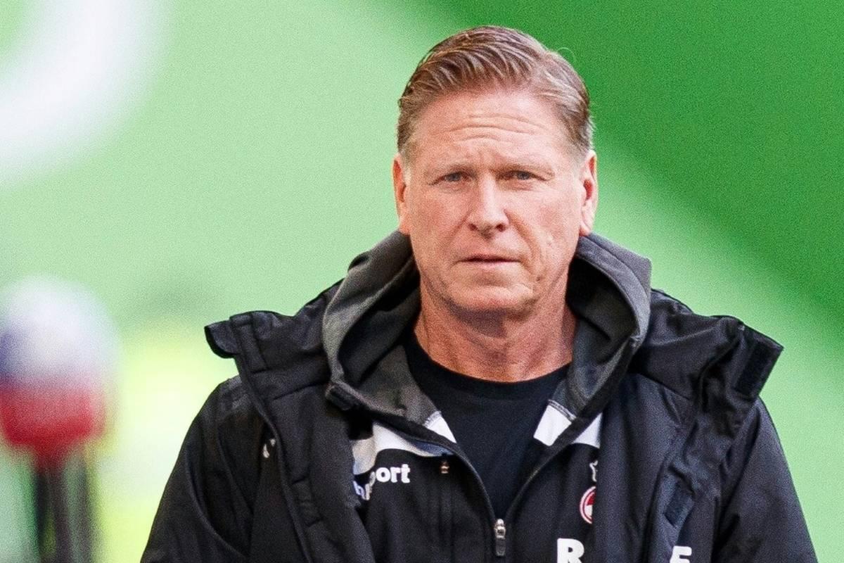 Markus Gisdol hat bei seinem Debüt als Chefcoach von Lokomotive Moskau mit viel Mühe eineschmerzhafte Niederlage vermieden.