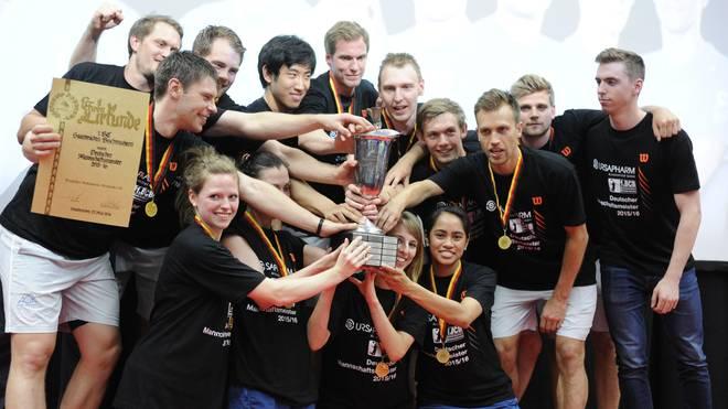 Bischmisheim holte zum siebten Mal in der Vereinsgeschichte den DM-Titel