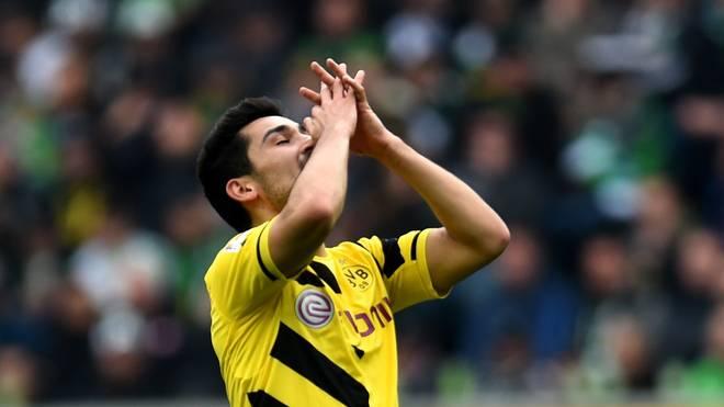Ilkay Gündogan von Borussia Dortmund in der Bundesliga