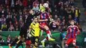 Robert Lewandowski FC Bayern Muenchen v Borussia Dortmund - DFB Cup Semi Final