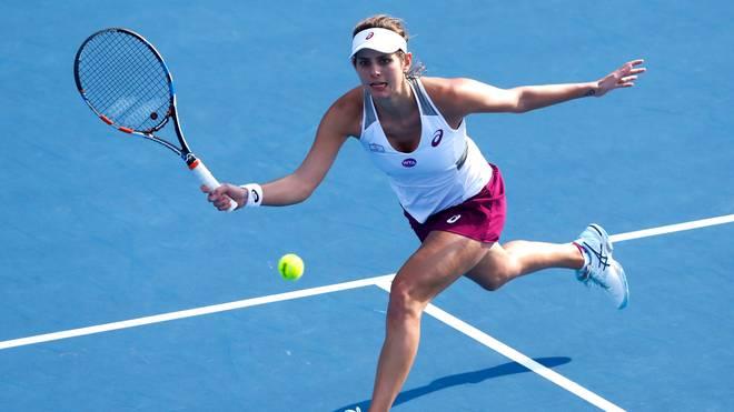 Julia Görges steht im Halbfinale von Auckland