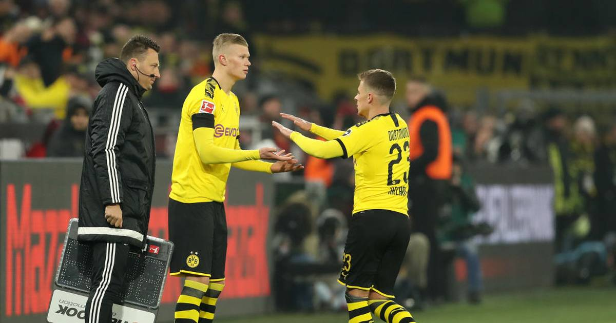 BVB: Erling Haaland wackelt gegen den SC Freiburg