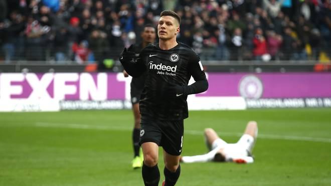Luka Jovic von Eintracht Frankfurt