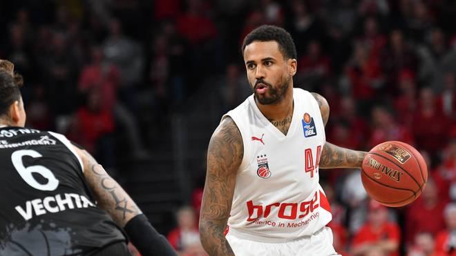 Bryce Taylor spielt seit 2017 für Brose Bamberg