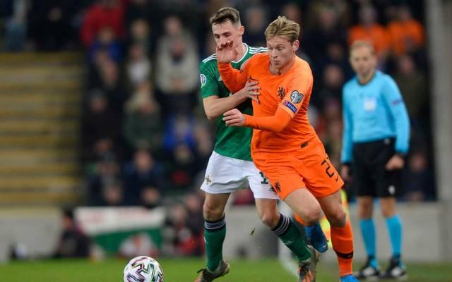 Em Qualifikation Nordirland Niederlande 0 0 Niederlande