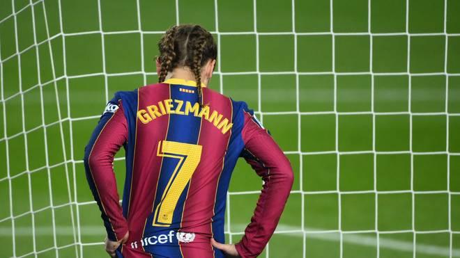 Antoine Griezmann lief gegen Real Sociedad mit geflochteten Zöpfen auf