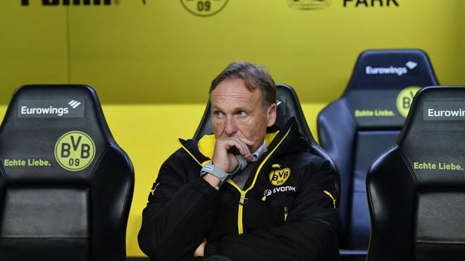 Hans-Joachim Watzke von Borussia Dortmund hofft auf ein Saison-Happy-End durch Geisterspiele