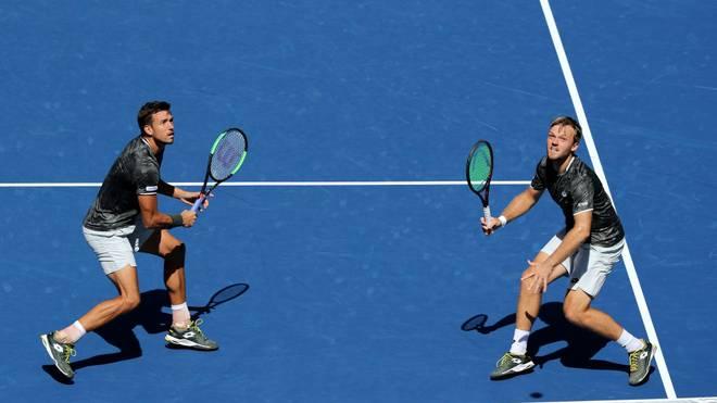 Kevin Krawietz und Andreas Mies haben das ATP-Turnier im belgischen Antwerpen gewonnen
