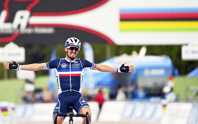 Julian Alaphilippe krönte sich zum Weltmeister