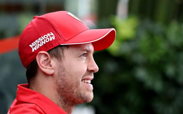 Sebastian Vettel wurde zum dritten Mal Vater
