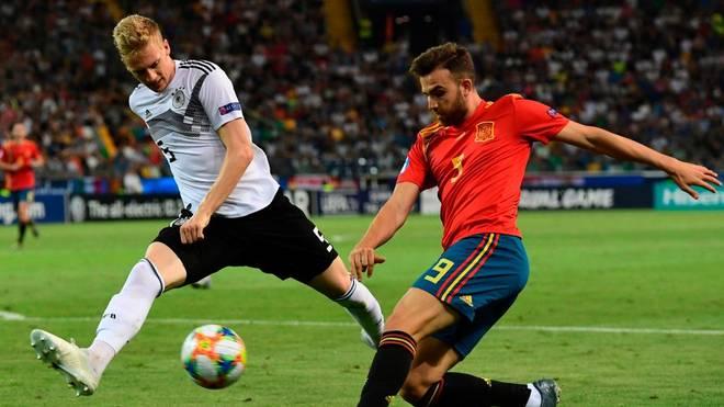 Im EM-Finale unterlag Deutschland Spanien mit 1:2