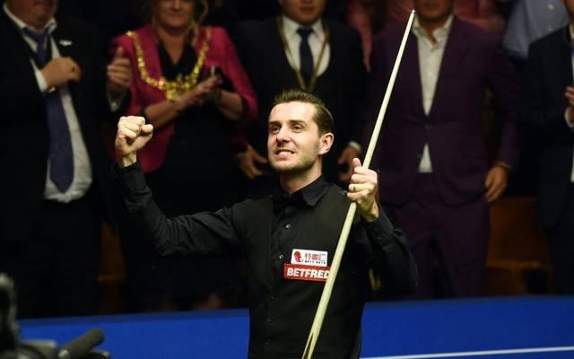 Steht im Viertelfinale der Snooker-WM: Mark Selby