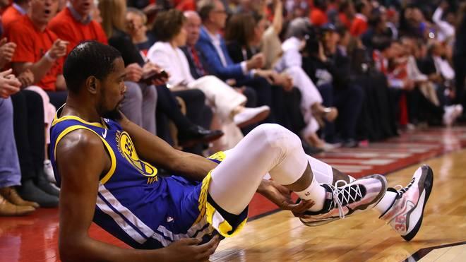 2019 NBA Finals: Gefährdete Kevin Durant in Spiel 5 für die Golden State Warriors seine Karriere?