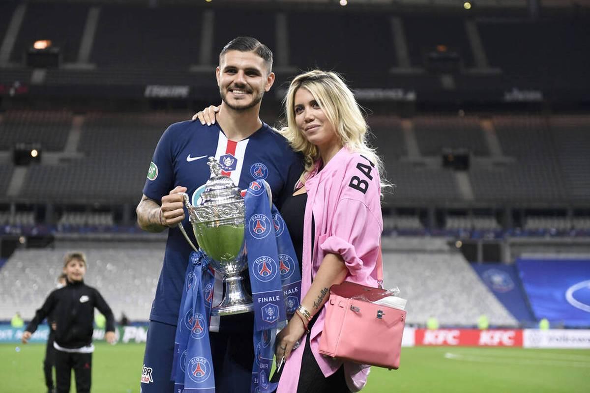 Ende gut, alles gut? Mauro Icardi hat sich offenbar mit seiner Ehefrau Wanda Nara versöhnt. Die postet auf Instagram ein emotionales Statement.