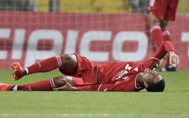 Malik Tillman verletzt sich beim Spiel gegen Dynamo schwer