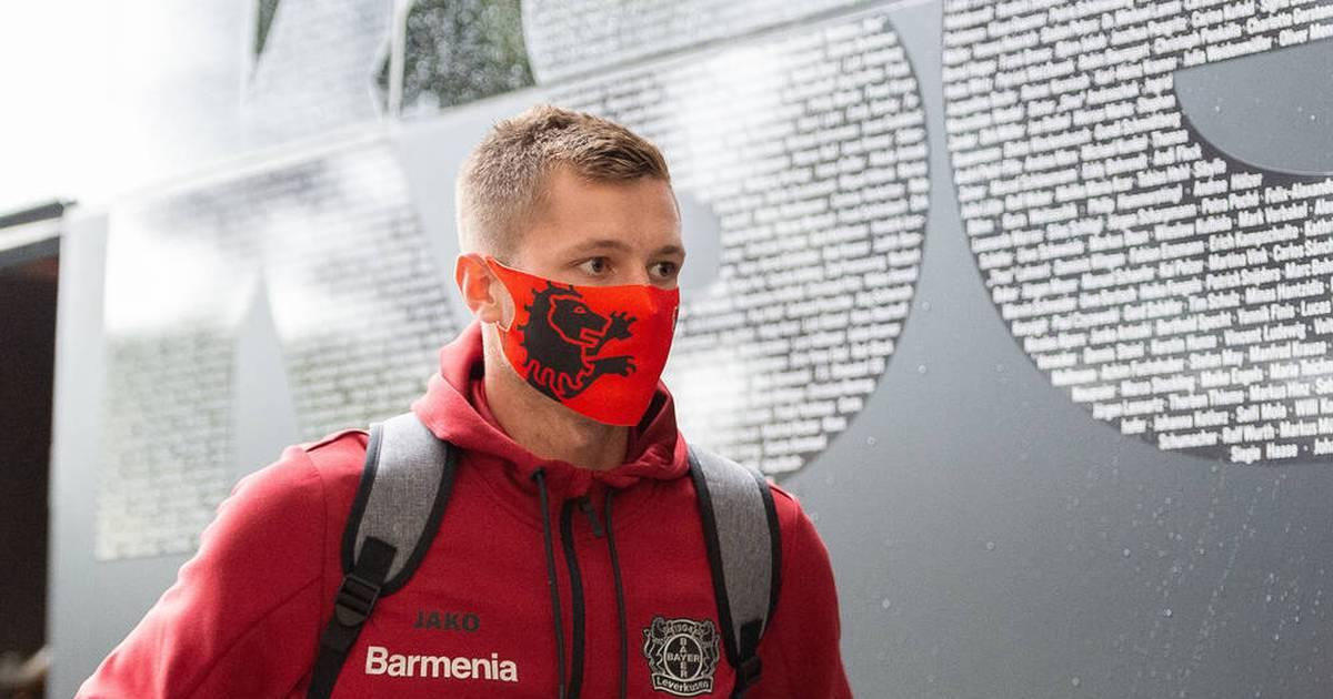 Bayer Leverkusen: Torwart Lennart Grill ist bisher bei der Werkself außen vor - SPORT1