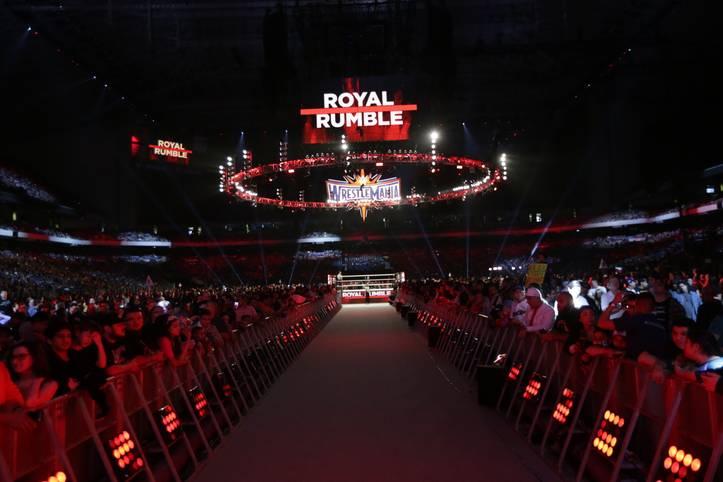 Die erste Großveranstaltung des WWE-Jahres steigt im Alamo Dome von San Antonio
