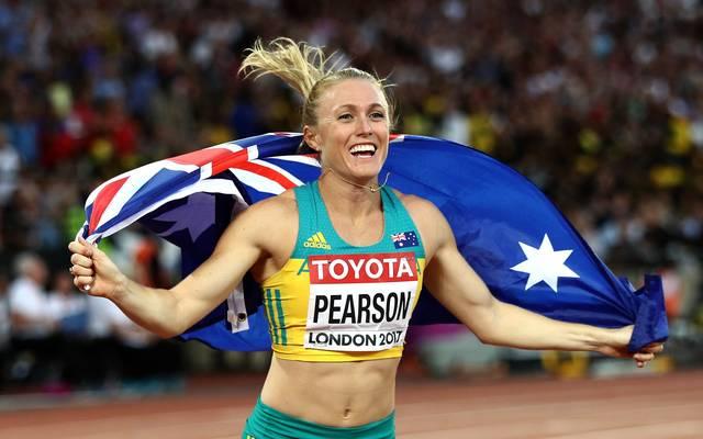 Sally Pearson gewann Gold bei den Olympischen Spielen 2012 in London