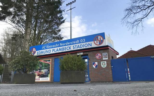 Eintacht Norderstedt wir sein Pokalspiel nicht im Edmund Plambeck Stadion austragen