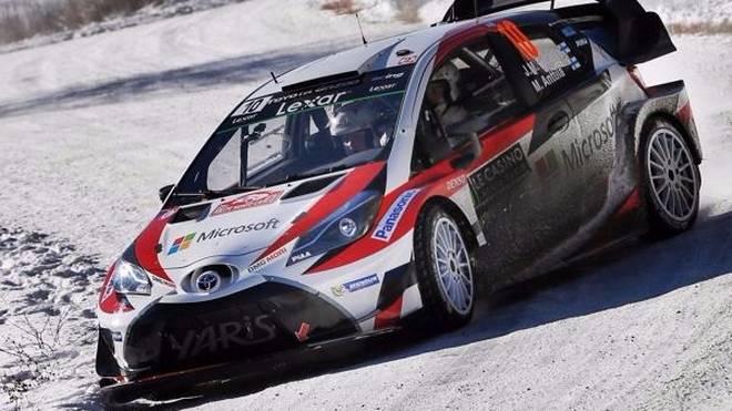 Toyota hat sich intensiv für den Winterklassiker in Schweden vorbereitet