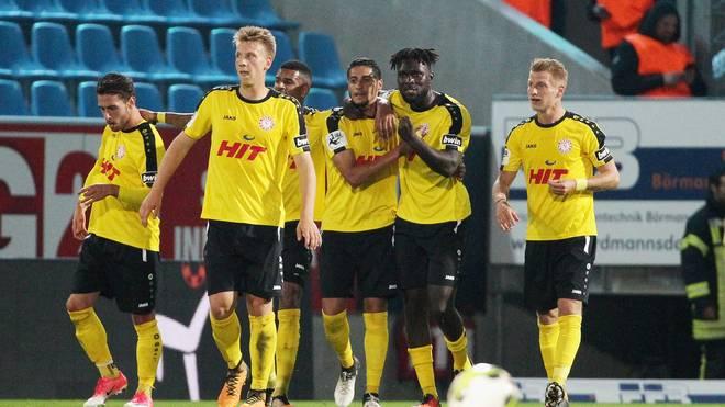 Fortuna Köln bleibt in der Spitzengruppe der 3. Liga