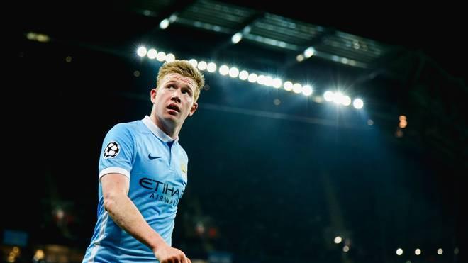 Kevin De Bruyne spielt seit 2015 für Manchester City in der Premier League