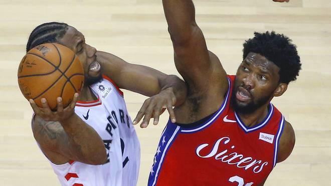 NBA-Playoffs: Toronto Raptors werfen Philadelphia 76ers dank Leonard raus