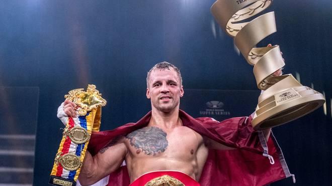 Mairis Briedis hat die Muhammad Ali Trophy gewonnen