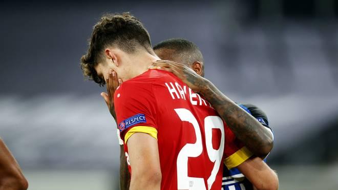 Kai Havertz kann bei Bayer Leverkusen nicht in der Champions League spielen